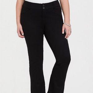 Torrid - Black Premium Ponte Trouser